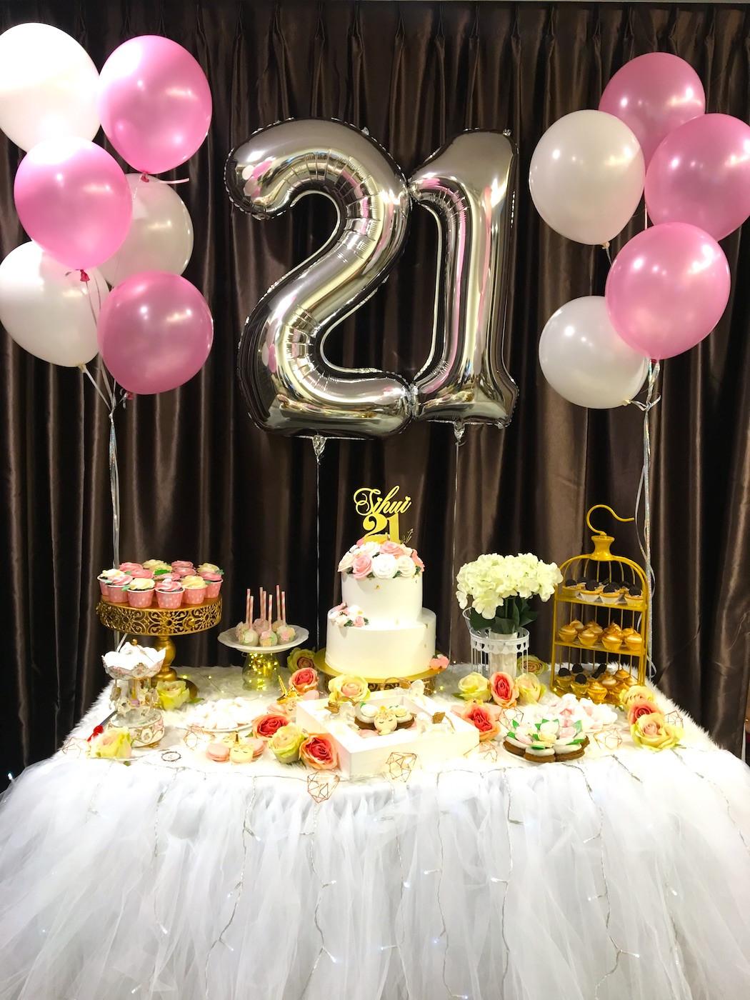 Decorations For 21st Birthday  21st Birthday Decoration