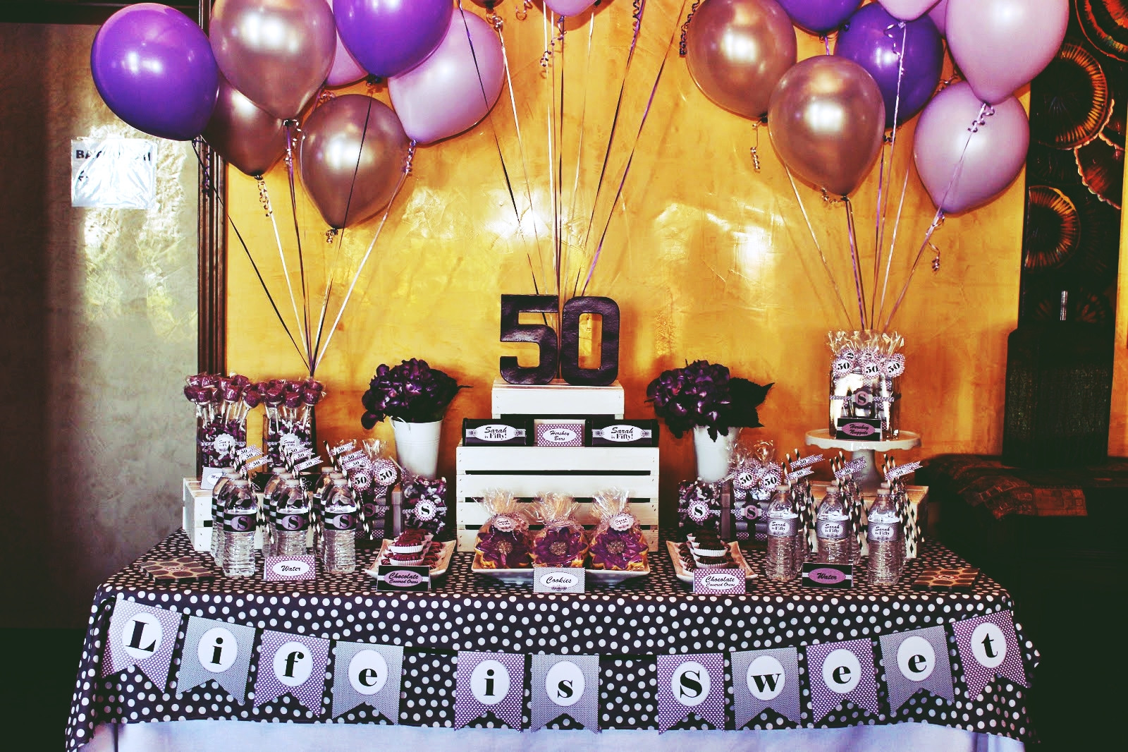 Decorations For 50th Birthday  Perfect 50th Birthday Party Themes for YouBirthday Inspire