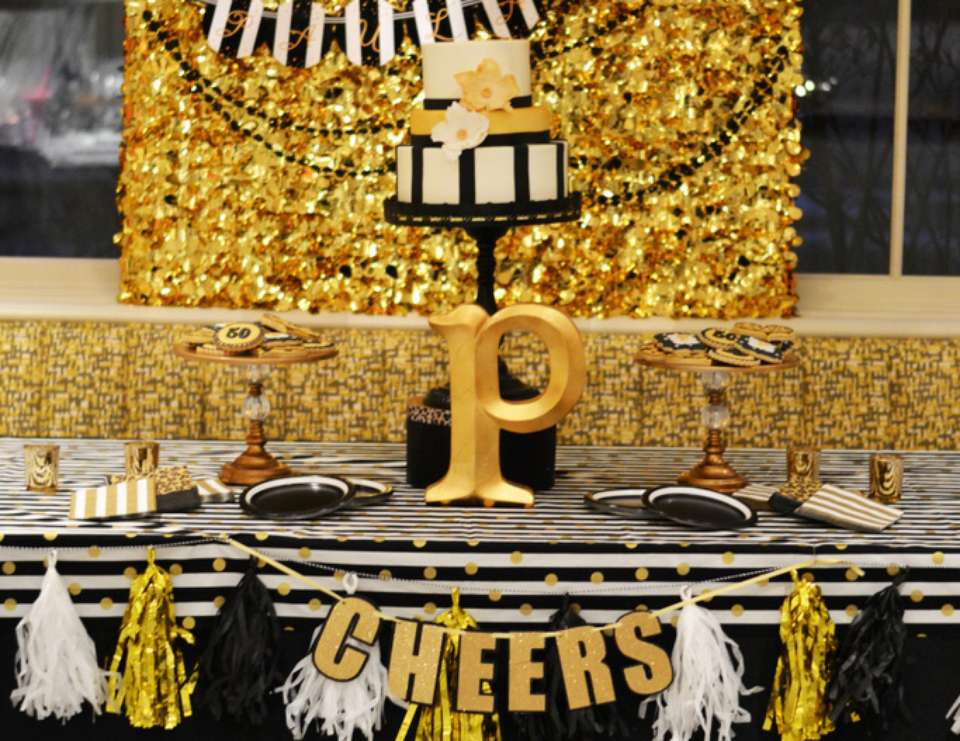 Decorations For 50th Birthday  5 super stylish 50th birthday decoration ideas Quotemykaam