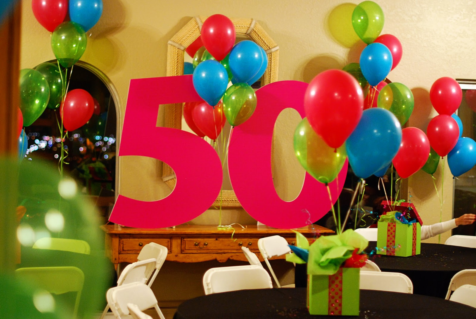 Decorations For 50th Birthday  Ideas To Celebrate Mom S Birthday
