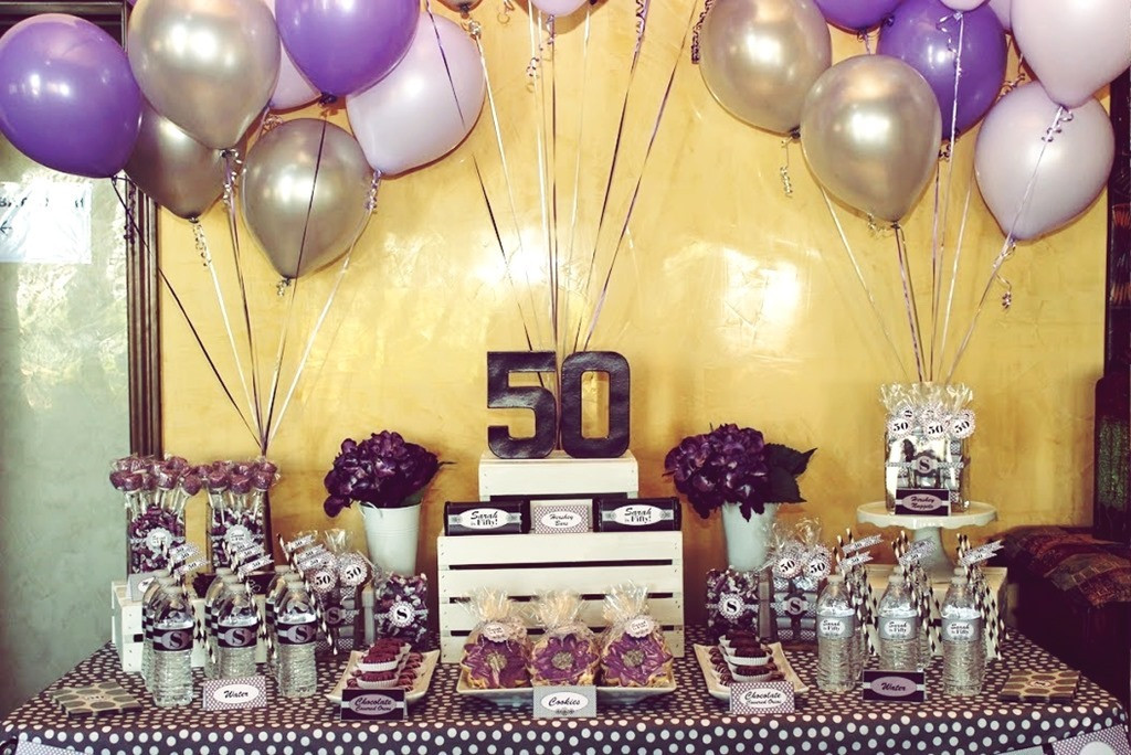 Decorations For 50th Birthday  Take away the Best 50th Birthday Party Ideas for Men