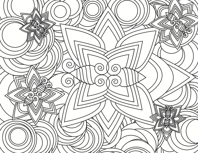 Design Coloring Pages For Kids  Cool Designs Coloring Pages AZ Coloring Pages