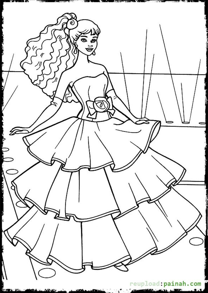 Design Coloring Sheets For Girls  Fashion Design Coloring Pages Bestofcoloring