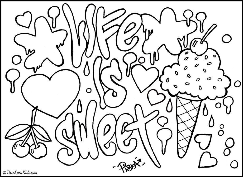 Design Coloring Sheets For Girls  Cool Designs Coloring Pages Coloring Home