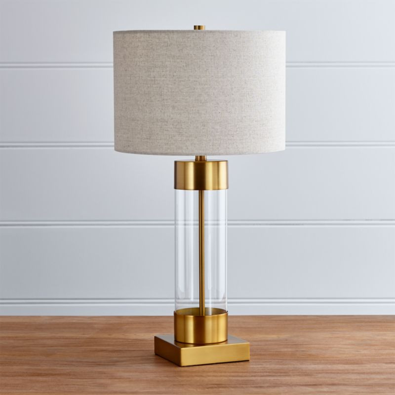Best ideas about Desk Lamp With Usb Port . Save or Pin Avenue Brass Table Lamp with USB Port Now.