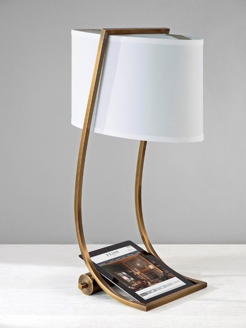 Best ideas about Desk Lamp With Usb Port . Save or Pin Elstead Lex Desk Lamp with USB Port Bronze Now.