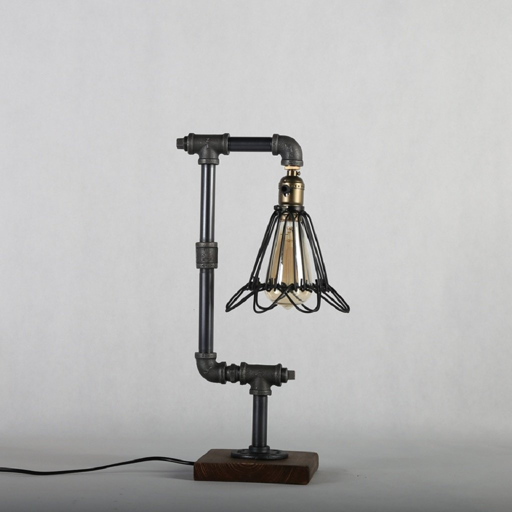 Best ideas about Desk Lamps Amazon . Save or Pin Vintage Industrial Style Desk Lamps Metal Pipe Desk Lamp Now.