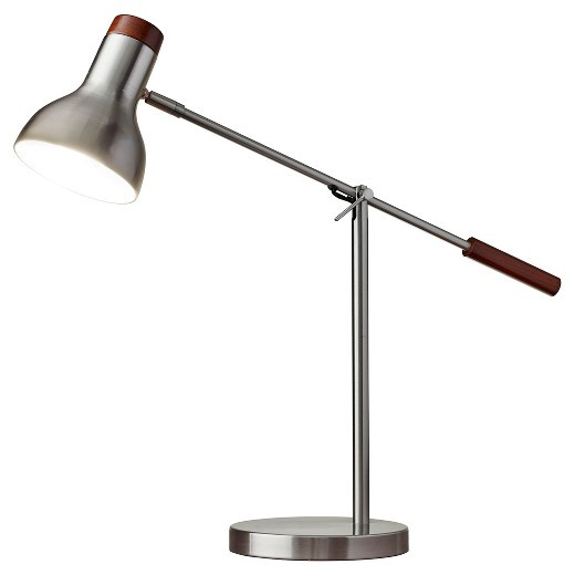 Best ideas about Desk Lamps Target . Save or Pin Adesso Watson Desk Lamp Silver Tar Now.