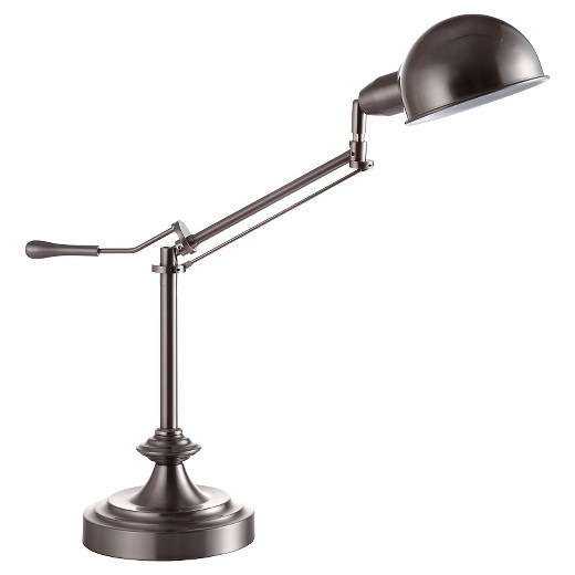 Best ideas about Desk Lamps Target . Save or Pin Modern Silver Task Table Lamp Tar Now.