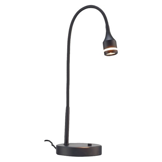 Best ideas about Desk Lamps Target . Save or Pin Adesso Prospect LED Desk Lamp Black Tar Now.