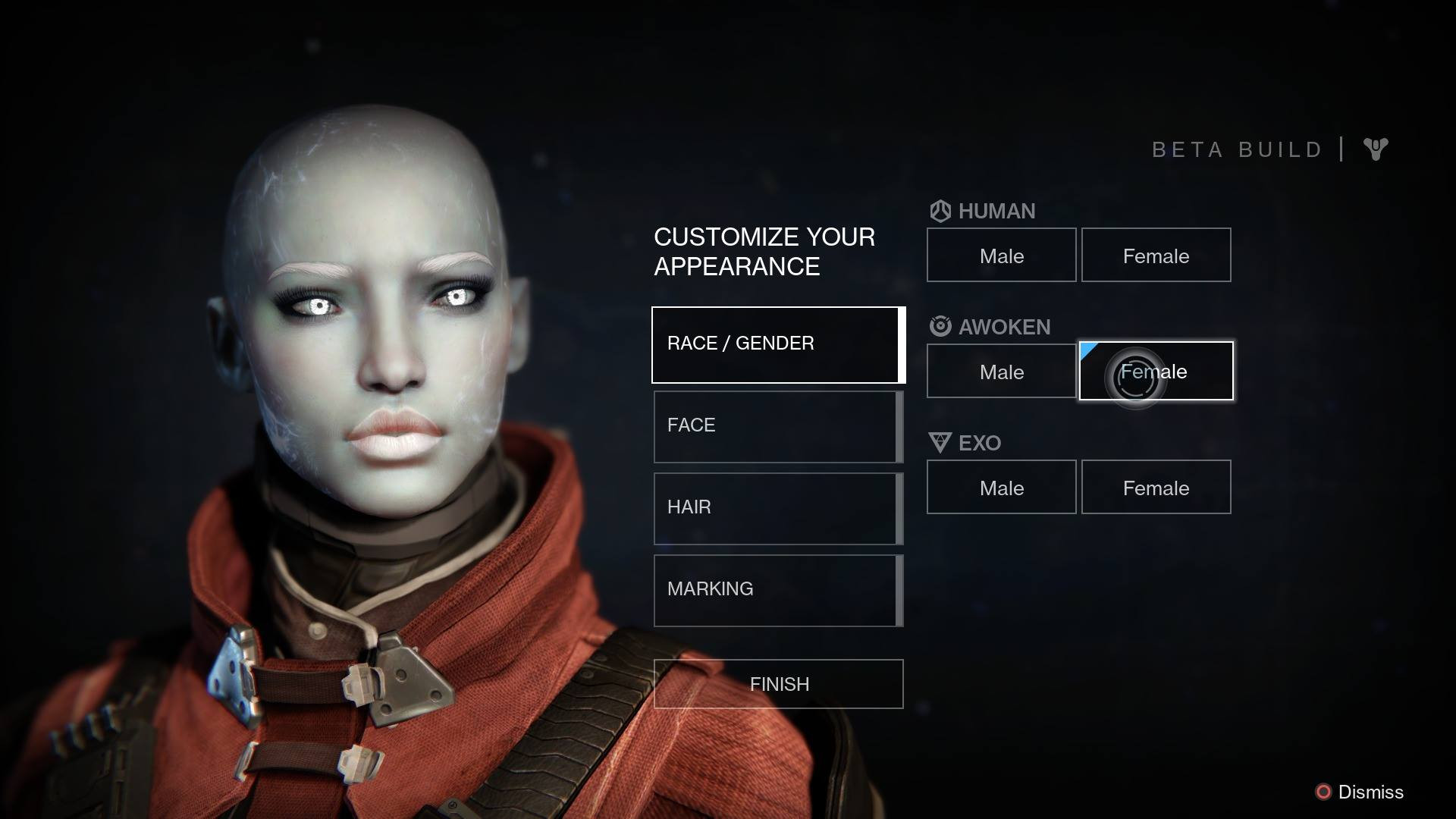 Destiny Human Female Hairstyles From Behind  Destiny Human Male Hairstyles From Behind HairStyles