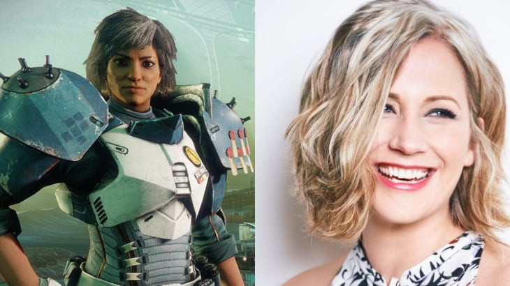 Destiny Human Female Hairstyles From Behind  Who Are the Voice Actors in Destiny 2 TL DR Games