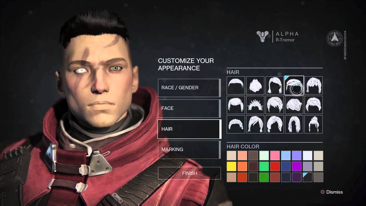 Destiny Human Female Hairstyles From Behind  destiny hairstyles human female destiny hairstyles human