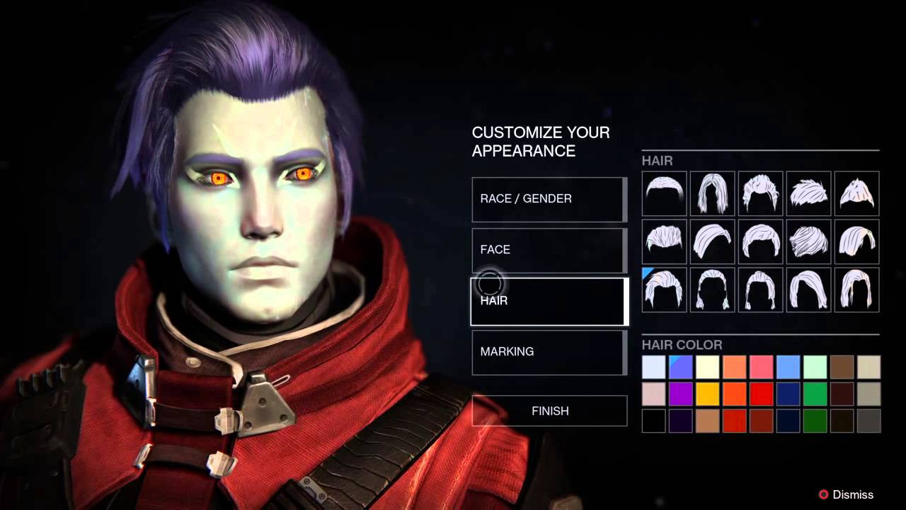 Destiny Human Female Hairstyles From Behind  All Destiny Hairstyles
