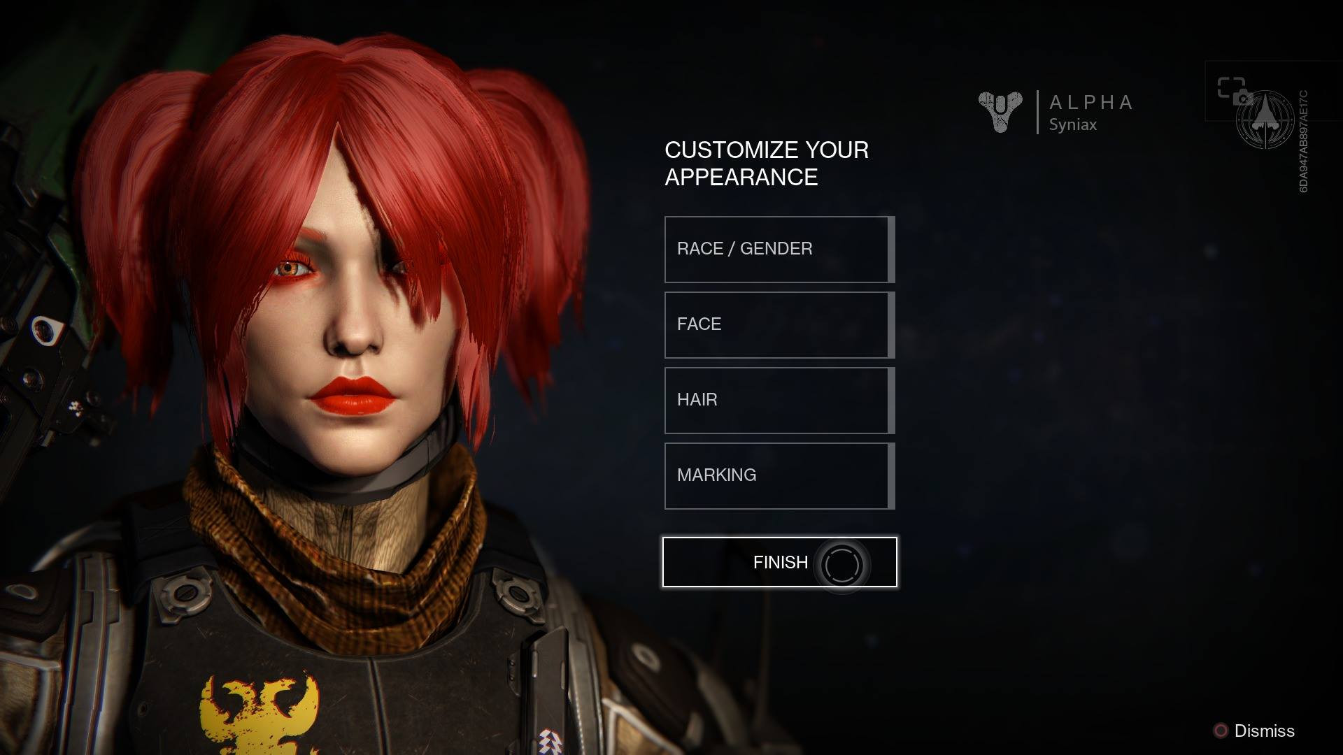 Destiny Human Female Hairstyles From Behind  Destiny Human Female Hairstyles