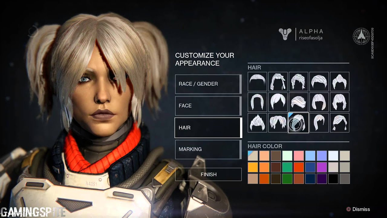 Destiny Human Female Hairstyles From Behind  How Do You Change Your Character S Hair In Destiny Best