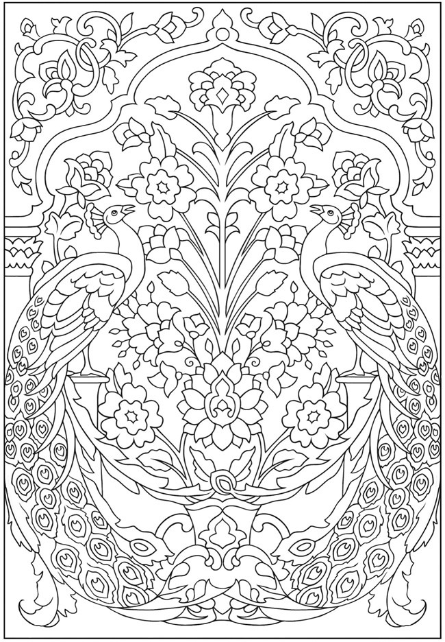Difficult Christmas Coloring Pages For Kids  Hard Coloring Pages for Adults Best Coloring Pages For Kids