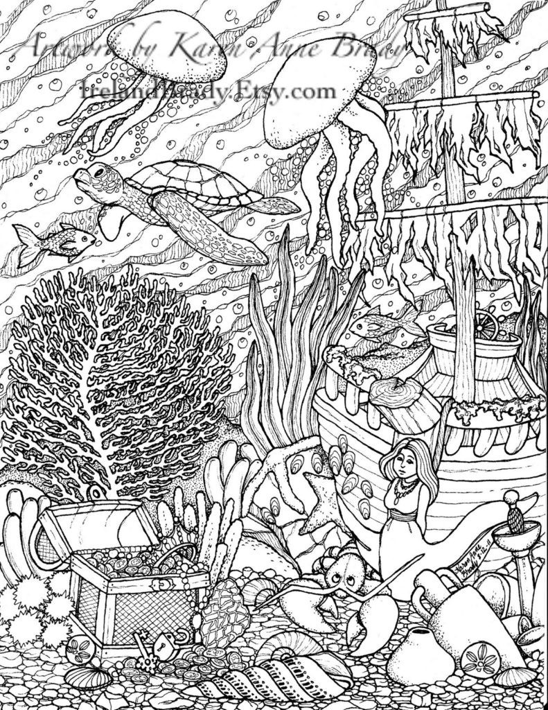 Difficult Color By Number Coloring Pages For Adults  Coloring Pages Printable Color By Number For Adults Free