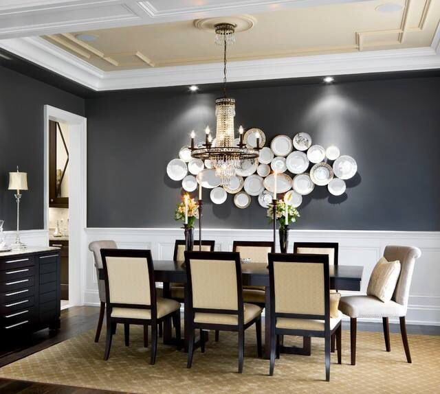 Best ideas about Dining Room Accent Walls . Save or Pin Decorate The Wall Near Your Dining Table Now.