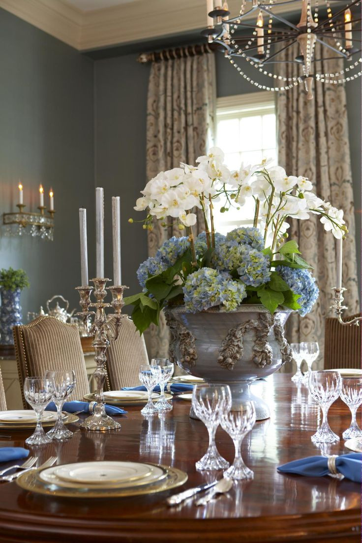 Best ideas about Dining Room Centerpieces . Save or Pin lovely dining wonderful centerpiece potted orchids Now.