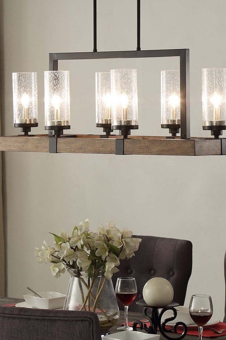 Best ideas about Dining Room Lights . Save or Pin Top 6 Light Fixtures for a Glowing Dining Room Overstock Now.