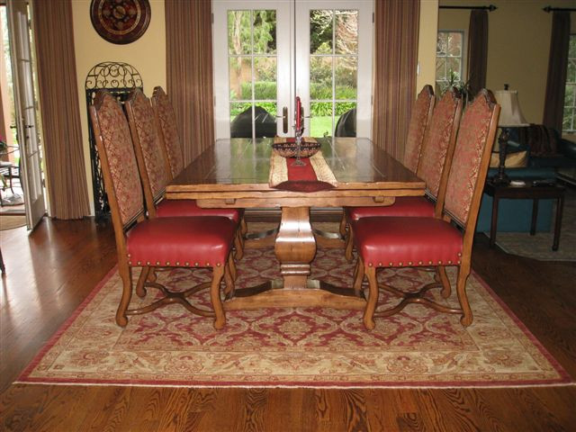 Best ideas about Dining Room Rug Size . Save or Pin How to Choose an Oriental Rug Size Catalina Rug Now.