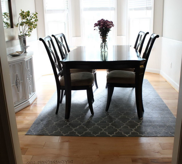 Best ideas about Dining Room Rug Size . Save or Pin Rug Size For Dining Room Now.