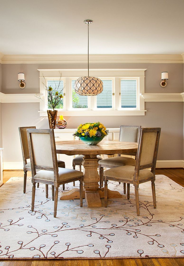 Best ideas about Dining Room Rug Size . Save or Pin How to Choose the Perfect Dining Room Rug Now.