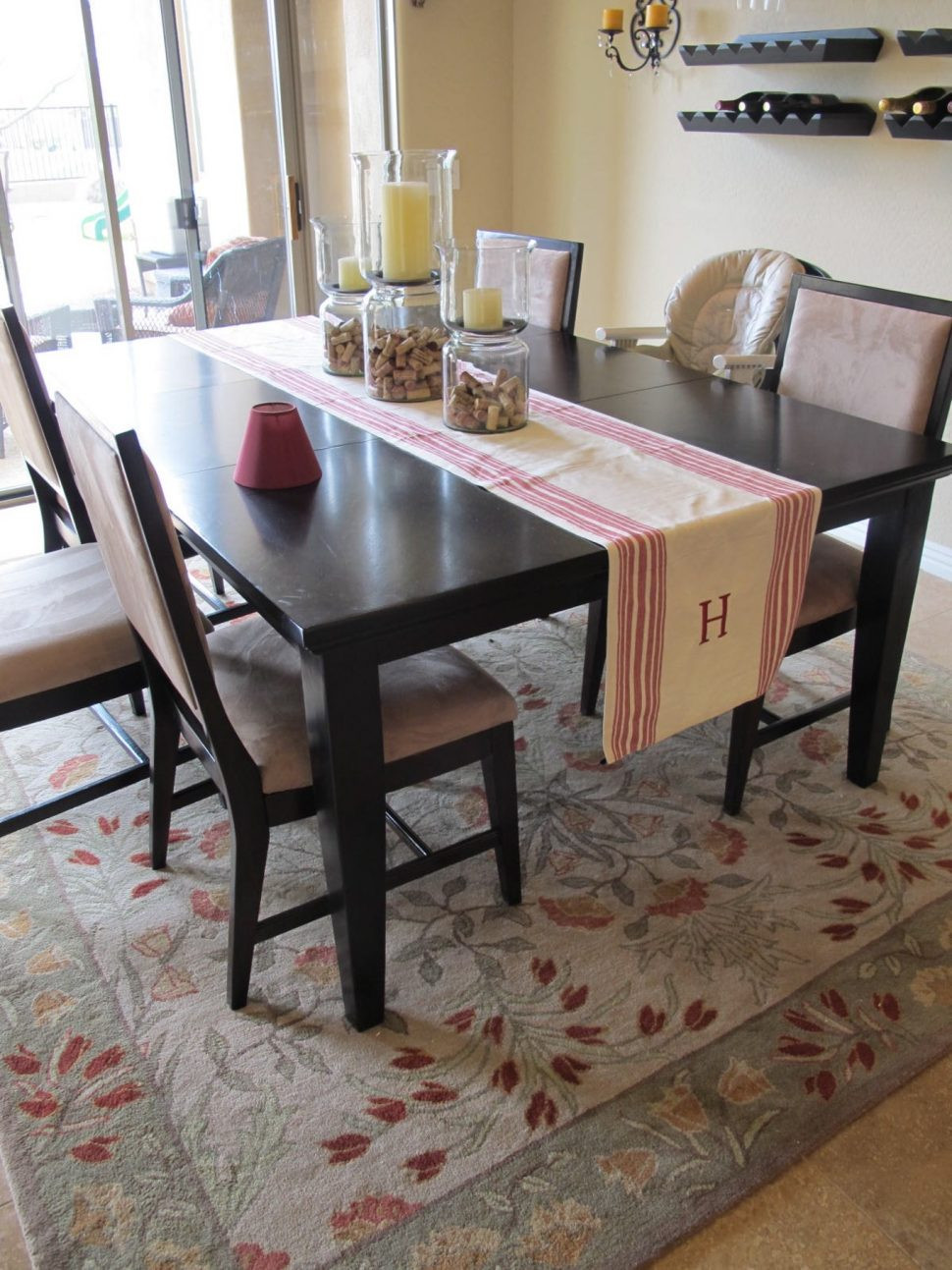 Best ideas about Dining Room Rug Size . Save or Pin Kitchen Magnificent Kitchen Table Carpet Dining Room Rugs Now.