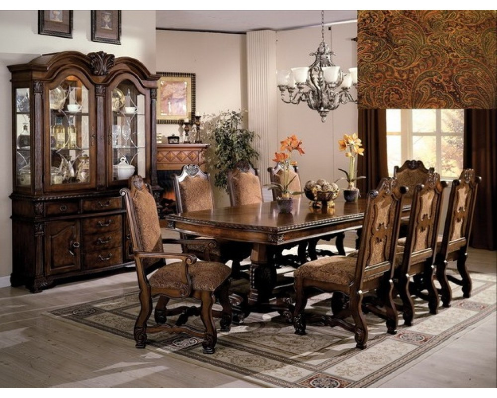 Best ideas about Dining Room Set . Save or Pin Neo Renaissance Elegant 7pc Dining Room Set Now.