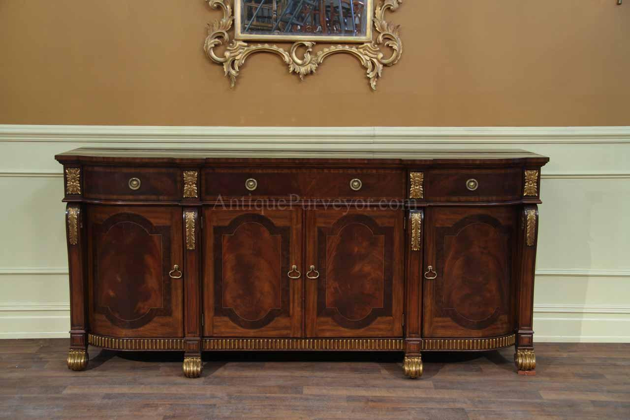 Best ideas about Dining Room Sideboard . Save or Pin Mahogany Sideboard with Gold Leaf Accents for the Dining Room Now.