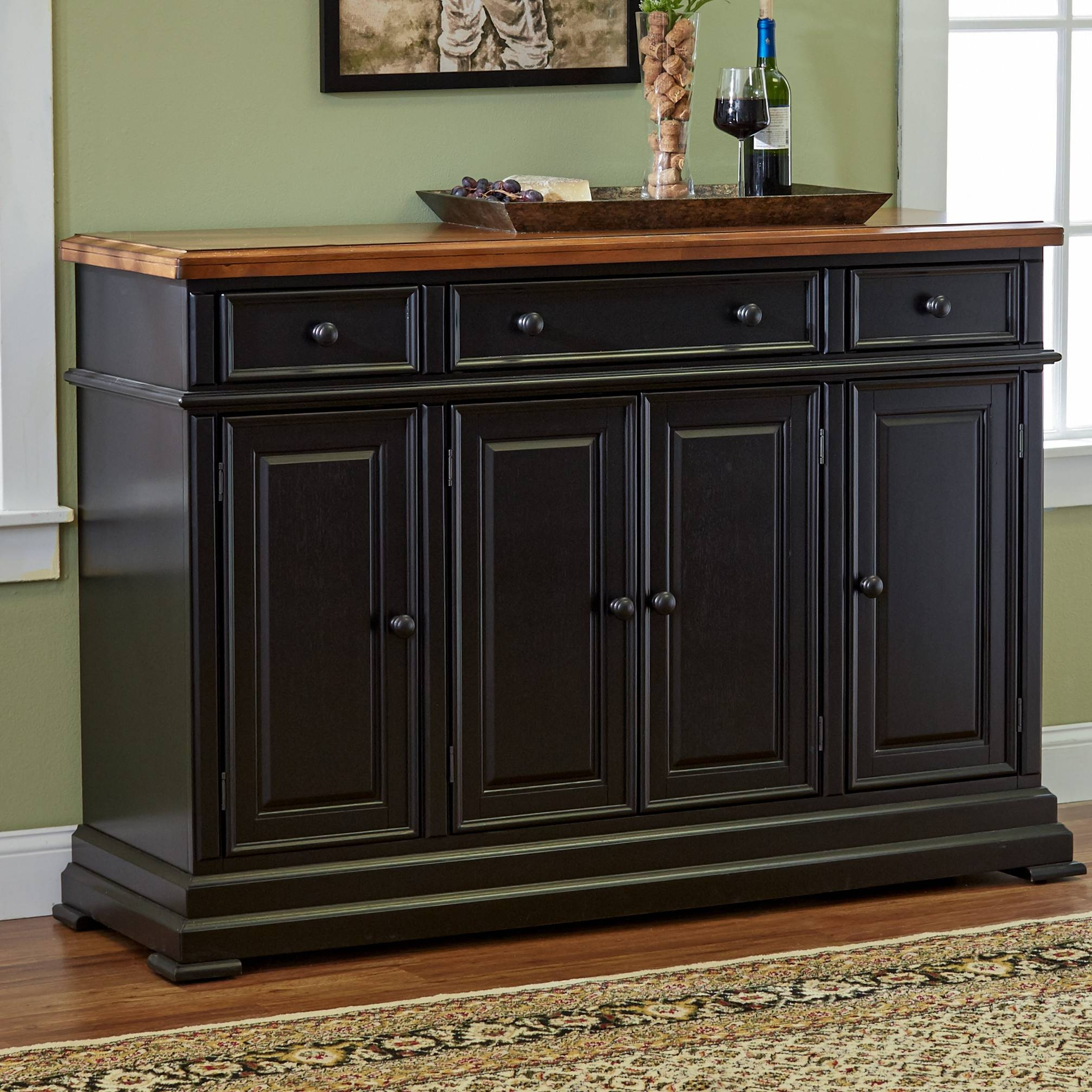 Best ideas about Dining Room Sideboard . Save or Pin 15 Best of Black Dining Room Sideboards Now.