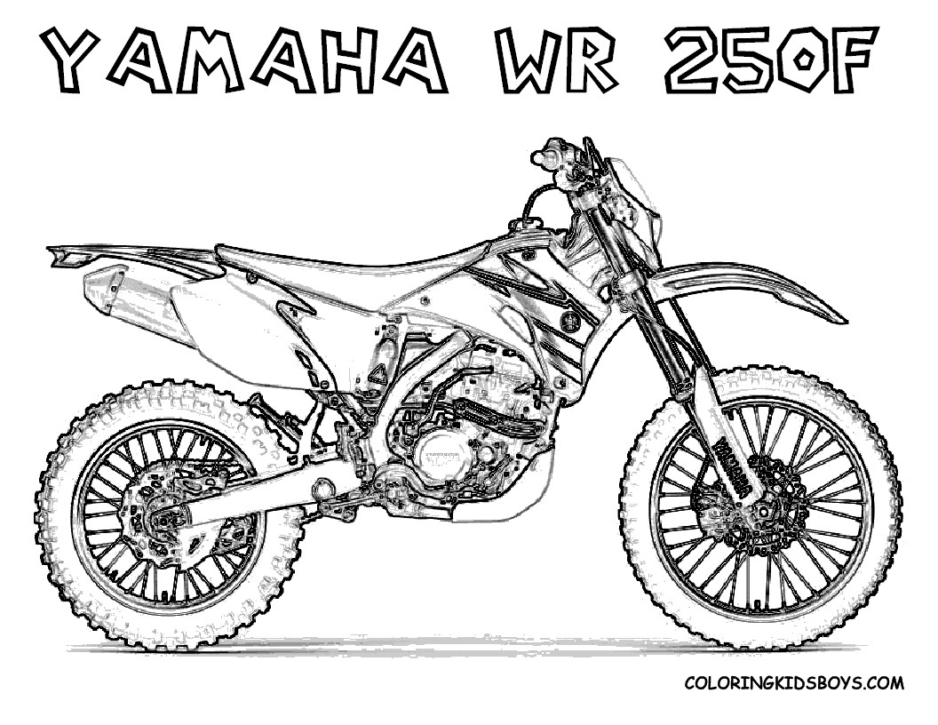 Dirtbike Coloring Pages  Atv Coloring Pages Download