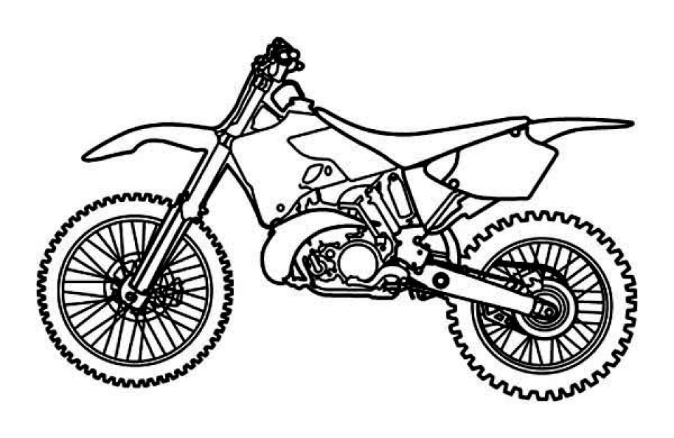 Dirtbike Coloring Pages  Get This Free Printable Dirt Bike Coloring Pages for Kids