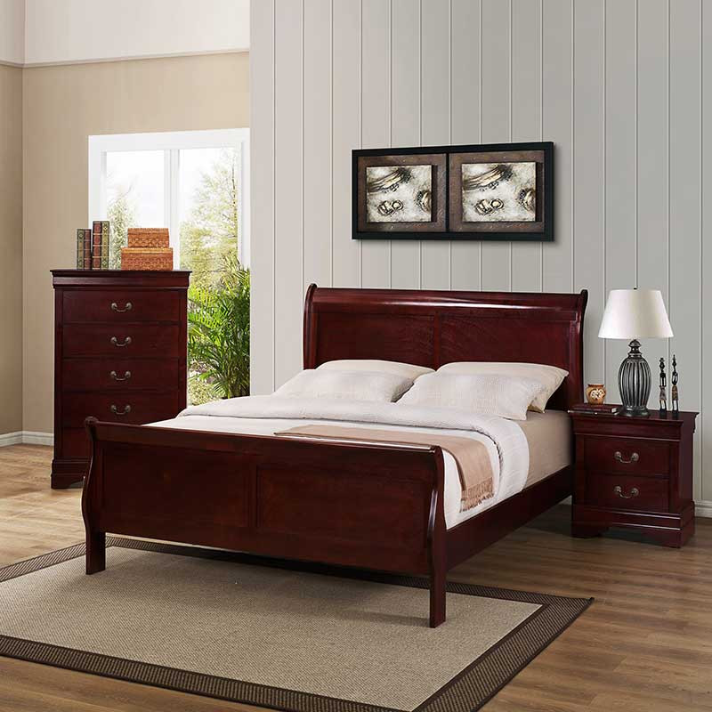 Best ideas about Discount Bedroom Furniture . Save or Pin Cherry Bedroom Set The Furniture Shack Now.