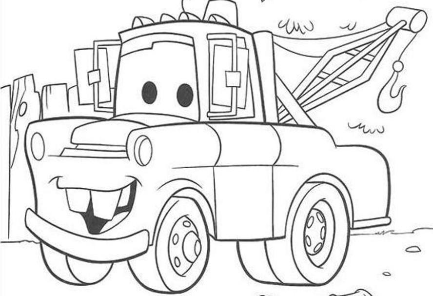 Disney Cars Coloring Book Pages  Cars Coloring Pages Disney Coloring Pages 2165