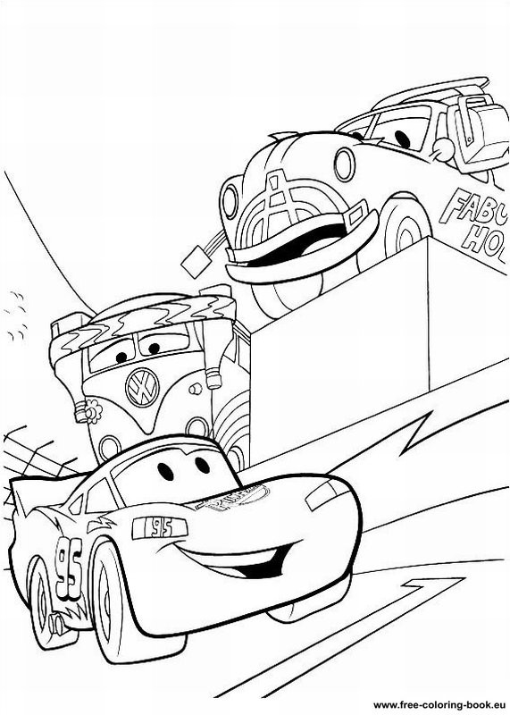 Disney Cars Coloring Book Pages  Coloring pages Cars Disney Pixar Page 2 Printable