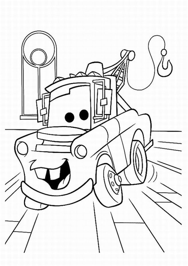 Disney Cars Coloring Book Pages  Disney Cars Coloring Pages For Kids Disney Coloring Pages