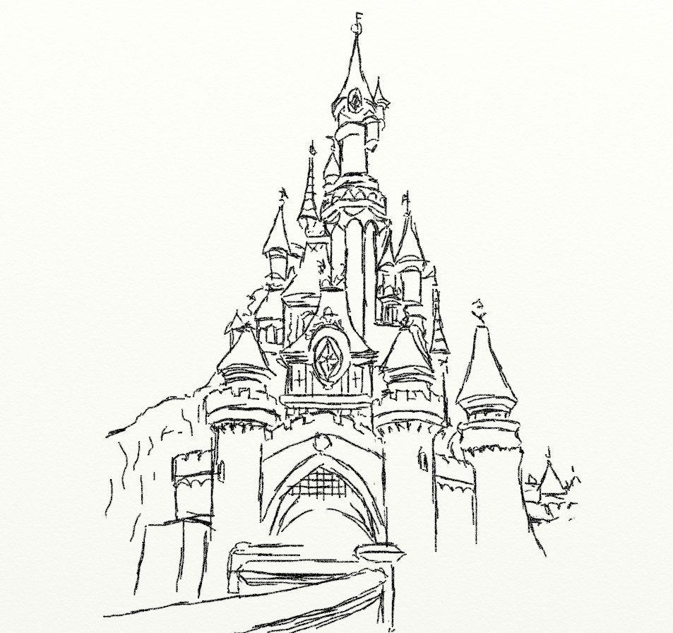 Disney Castle Coloring Pages  Disney Castle Coloring Pages Printable AZ Coloring Pages