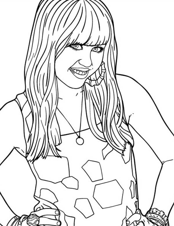 Disney Cha Nnel Coloring Sheets For Girls  Disney Channel Characters Coloring Pages Coloring Home