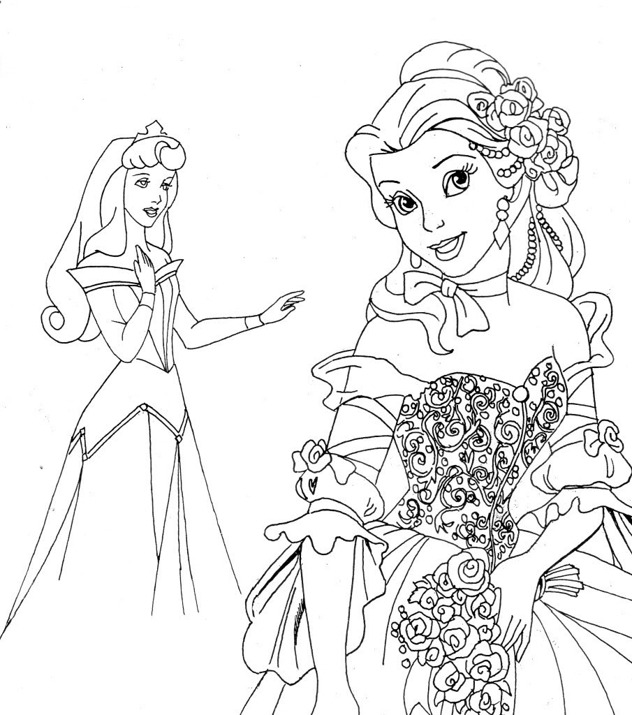 Disney Christmas Coloring Pages For Girls  Disney Channel Coloring Pages Bestofcoloring