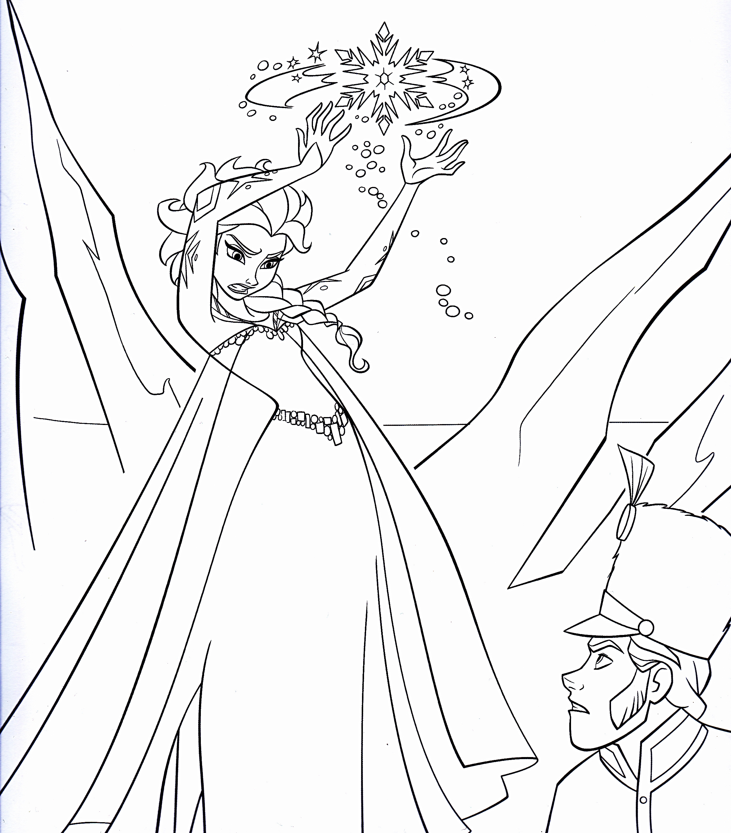 Disney Frozen Coloring Pages  Disney's Frozen Colouring Pages