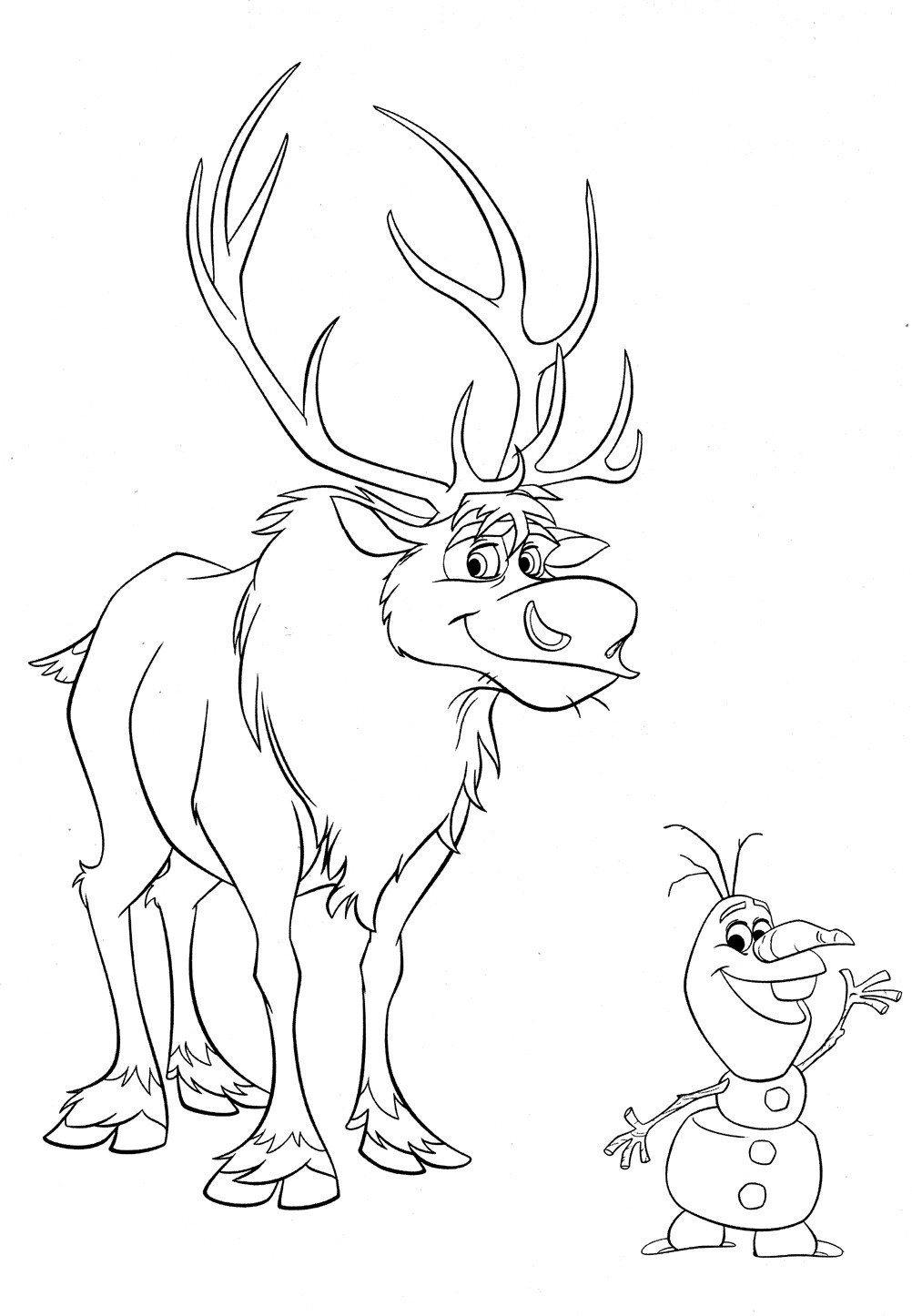 Disney Frozen Coloring Pages  Disney Frozen Coloring Pages To Download