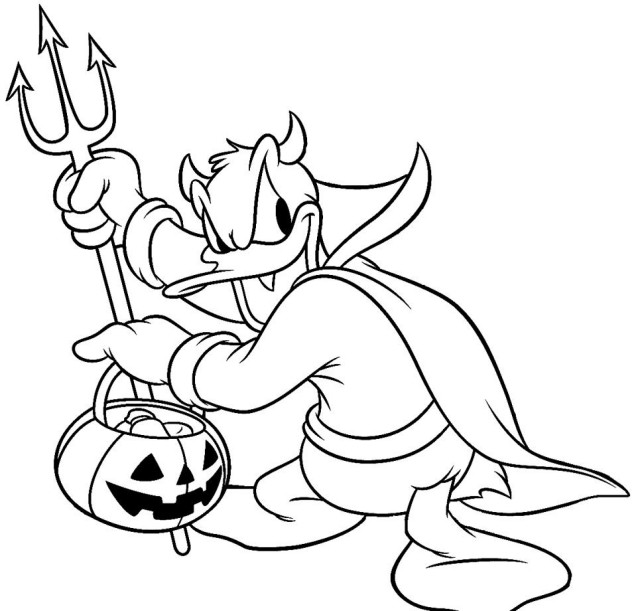 Disney Halloween Coloring Pages For Kids  25 Halloween Bilder zum Ausmalen Kostenlos ausdrucken