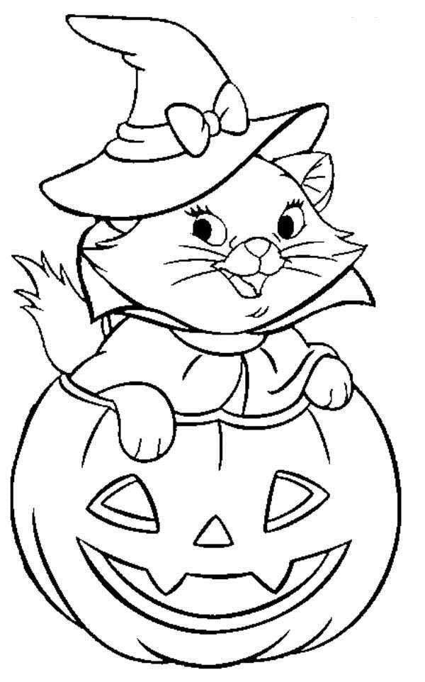 Disney Halloween Coloring Pages For Kids  Disney Halloween Coloring Sheet for Kids Picture 33