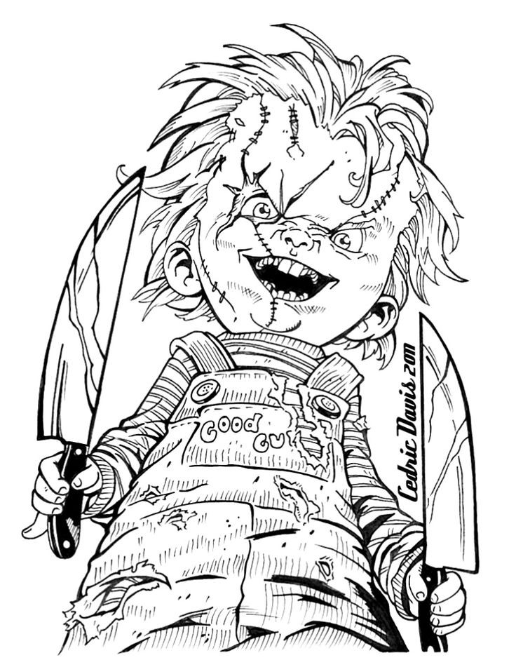 Disney Zombies Coloring Pages  67 best Horror Coloring Pages images on Pinterest