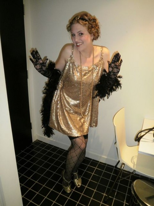 Best ideas about DIY 1920S Costume . Save or Pin DIY Flapper Girl Costume Now.