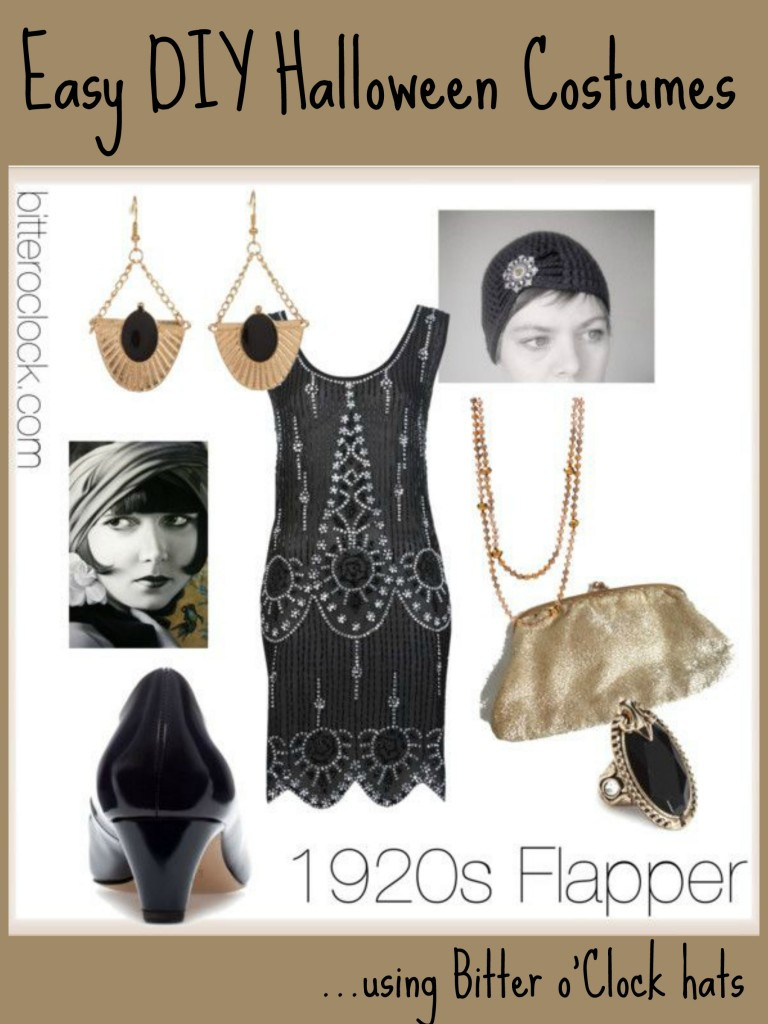 Best ideas about DIY 1920S Costume . Save or Pin Easy DIY Halloween Costumes 1920s Flapper Bitter o Clock Now.