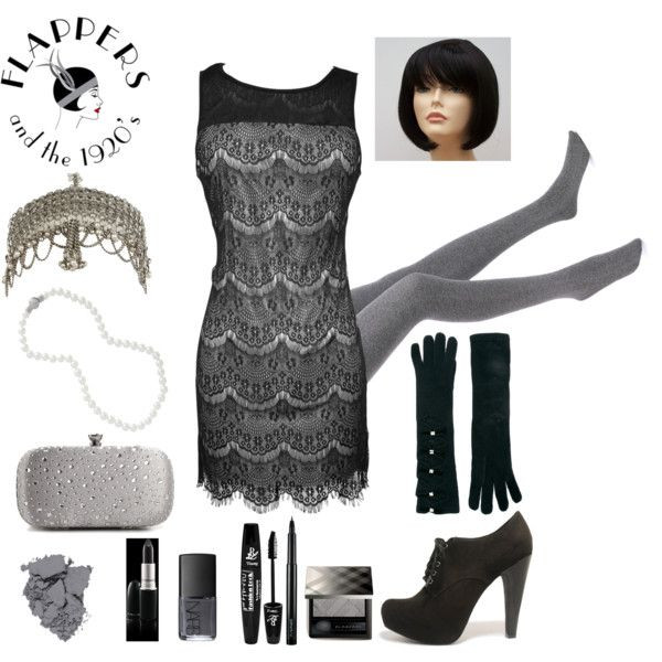 Best ideas about DIY 1920S Costume . Save or Pin DIY last minute Flapper 20s Black and White Costume Now.