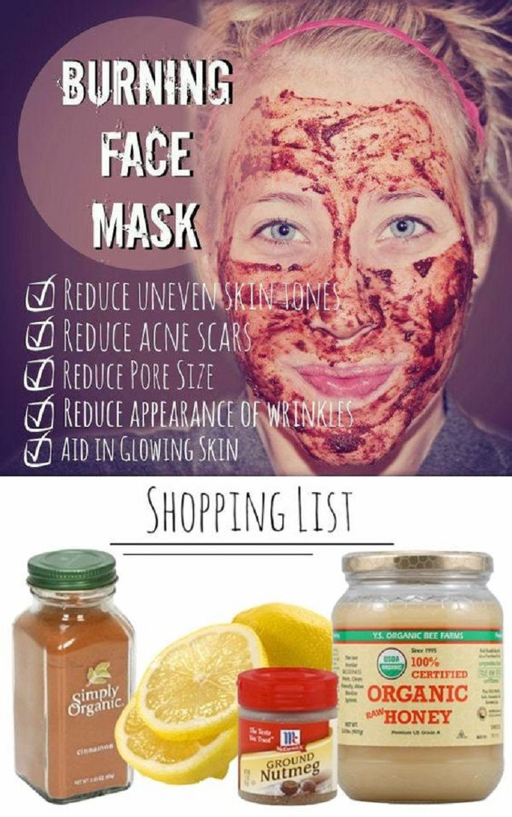 DIY Acne Mask  Banish Acne Scars Forever 6 Simple DIY Ways to Get Clean Skin